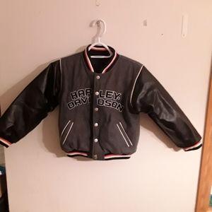 Harley-Davidson Youth reversible Jacket size 6X